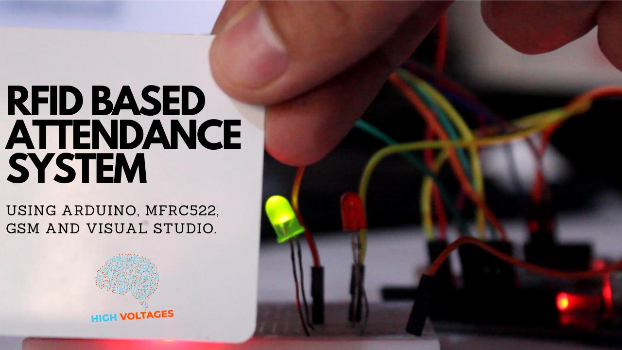 RFID based attendance system