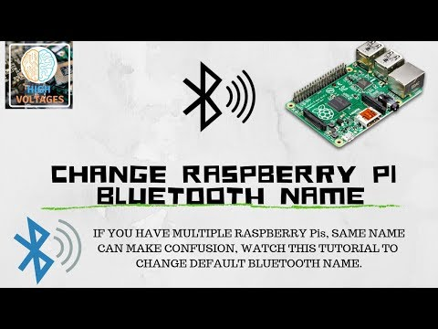 change pi bluetooth name