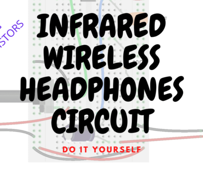 IR Wireless Headphones DIY