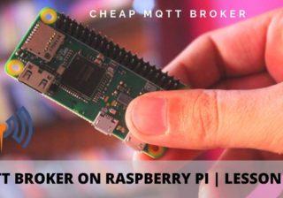 Mosquitto MQTT Broker Raspberry Pi